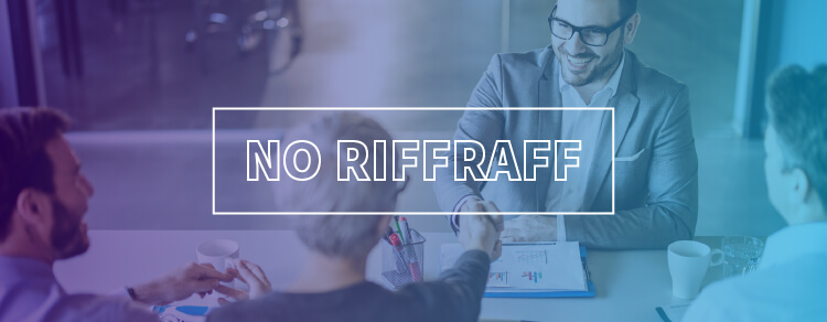 Tips on outsourcing marketing creative: No riffraff