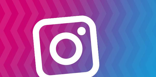 Instagram icon banner
